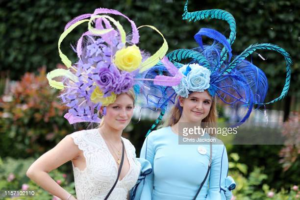 Guests on day three Ladies Day of Royal Ascot at Ascot Racecourse on June 20 2019 in Ascot England