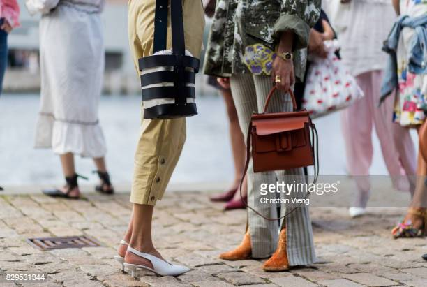 Guests outside Designers Remix on August 10 2017 in Copenhagen Denmark