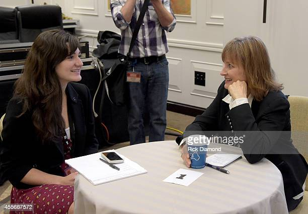 Guests participate in the Mentoring Sessions at the Hutton Hotel on September 18 2014 in Nashville Tennessee