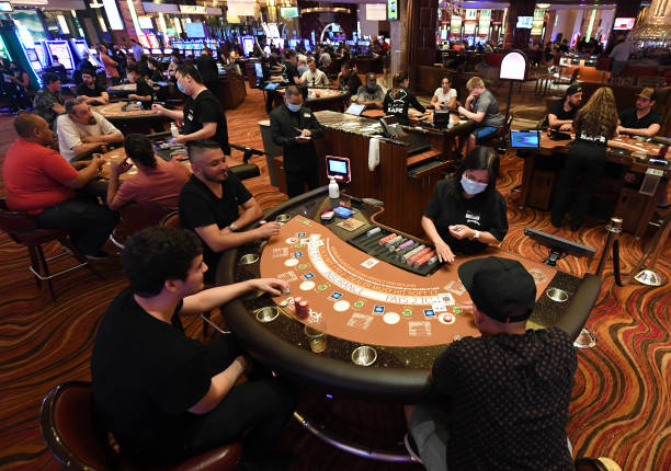 NV: Nevada Casinos Reopen For Business After Closure For Coronavirus Pandemic