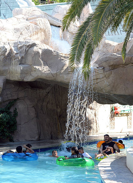 Mandalay Bay 2 Bedroom Suite: Wave Pool Offers Refuge From Extreme Heat At Mandalay Bay