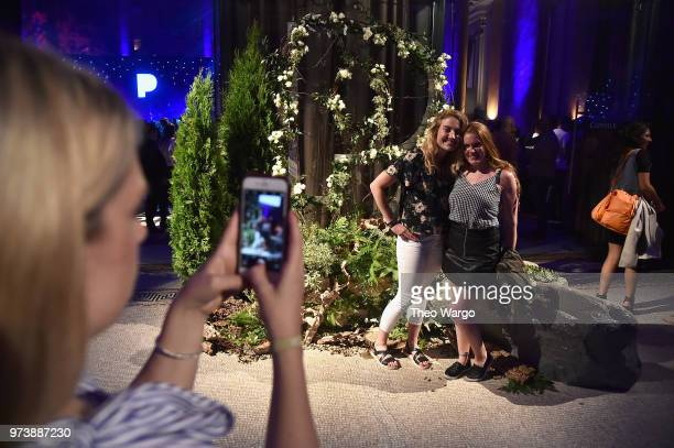 Guests pose at Pandora Up Close With Dierks Bentley Sponsored By Southwest on June 13 2018 in New York City