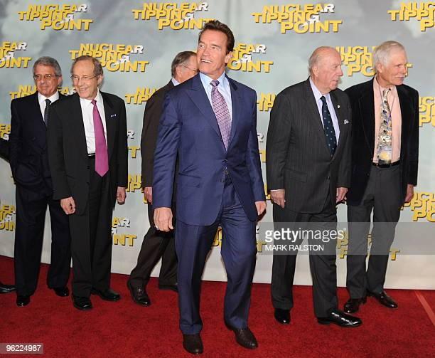 Guests President & COO of Universal Studios Ron Meyer, former Defense Secretary William Perry, former Senator Sam Nunn, Governor Arnold...