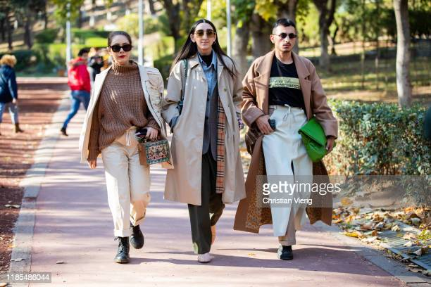 Guests seen during day 4 of the MercedesBenz Tbilisi Fashion Week on November 03 2019 in Tbilisi Georgia