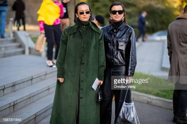 Guests seen during MercedesBenz Tbilisi Fashion Week on November 4 2018 in Tbilisi Georgia