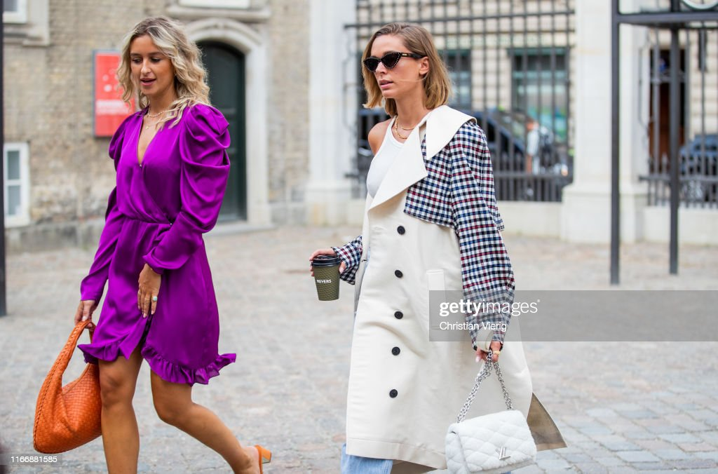 Guests Seen Outside Designers Remix During Copenhagen Fashion Week News Photo Getty Images
