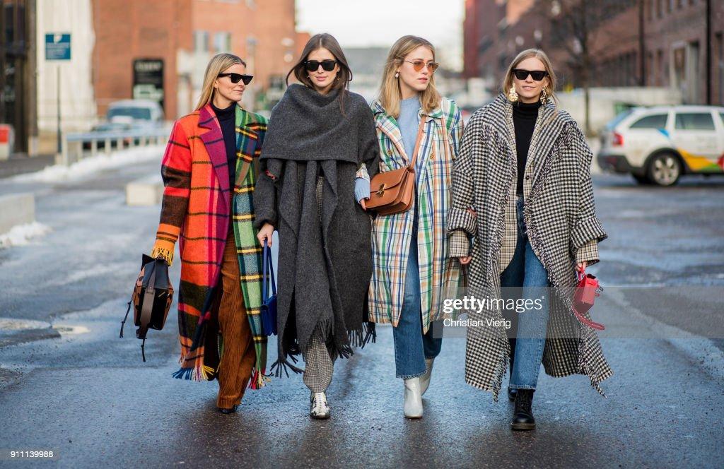 Day 2 - Steet Style - Oslo Fashion Week - January 2018