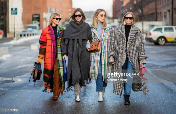 Guests seen outside ESP on January 27 2018 in Oslo Norway