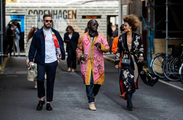 DNK: Street Style - Day 2 - Copenhagen Fashion Week Spring/Summer 2022