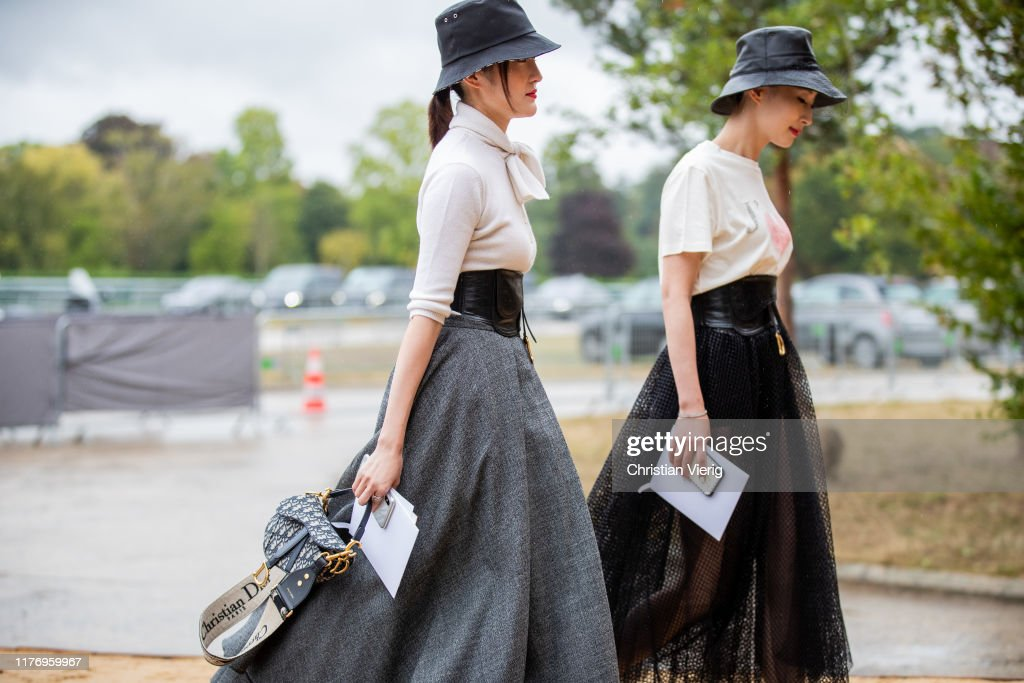 Guests Seen Wearing Bucket Hat Outside The Dior Show During Paris News Photo Getty Images