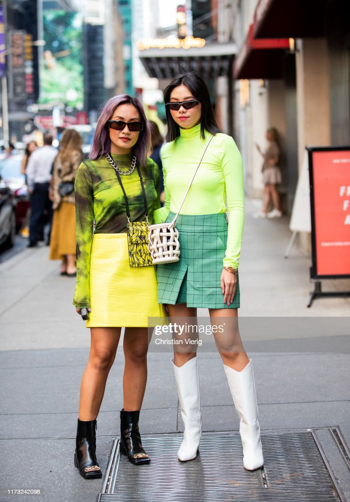 Street Style - New York Fashion Week September 2019 - Day 4 : News Photo