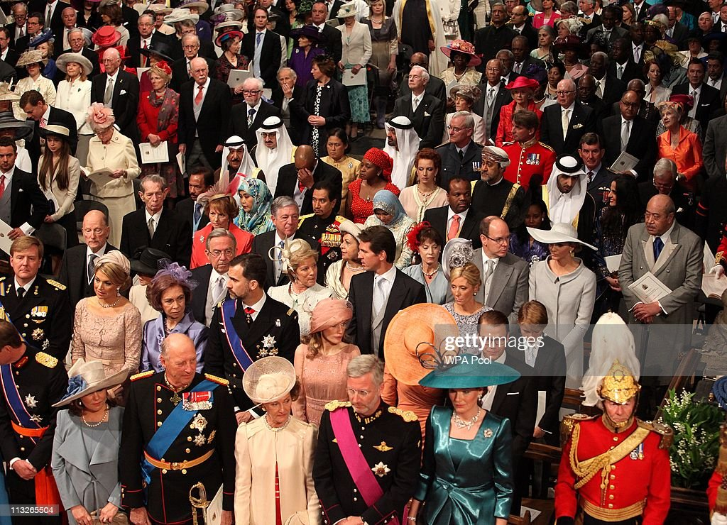 Royal Wedding - The Wedding Ceremony Takes Place Inside Westminster Abbey : News Photo