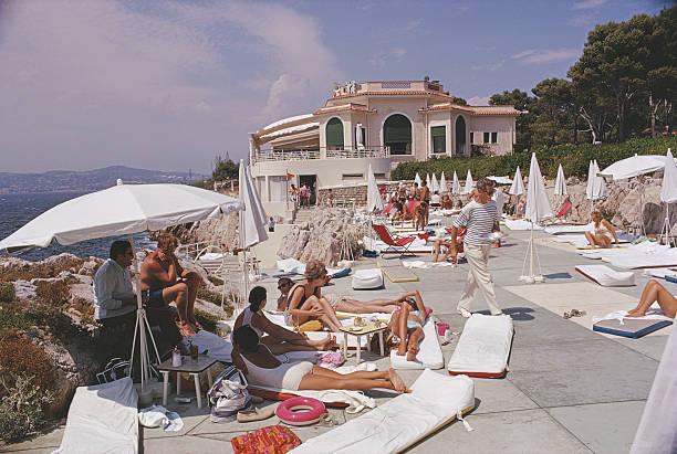 Sunbathing At Hotel Du Cap-Eden-Roc