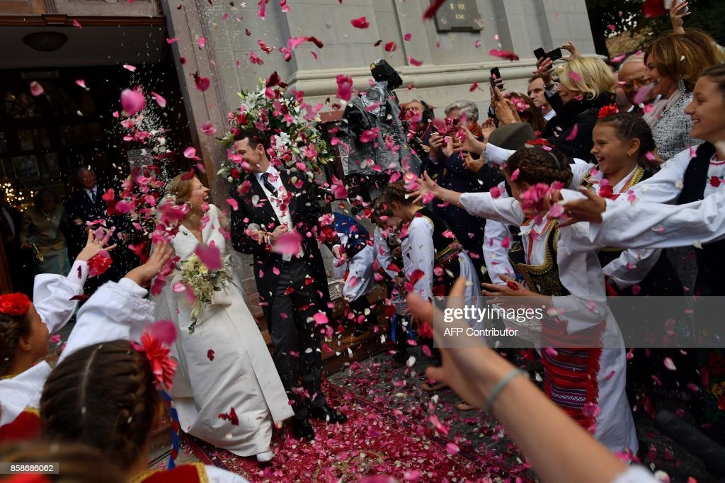 SERBIA-PEOPLE-ROYALS : News Photo