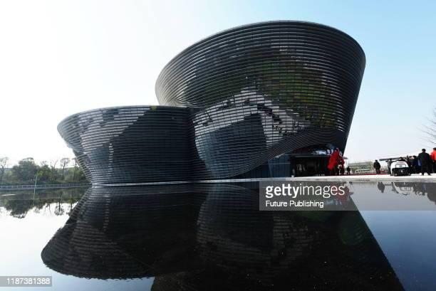 Guests unveil the Intelligent Transportation Museum, Hangzhou, Zhejiang, China, December 7, 2019.- PHOTOGRAPH BY Costfoto / Barcroft Media