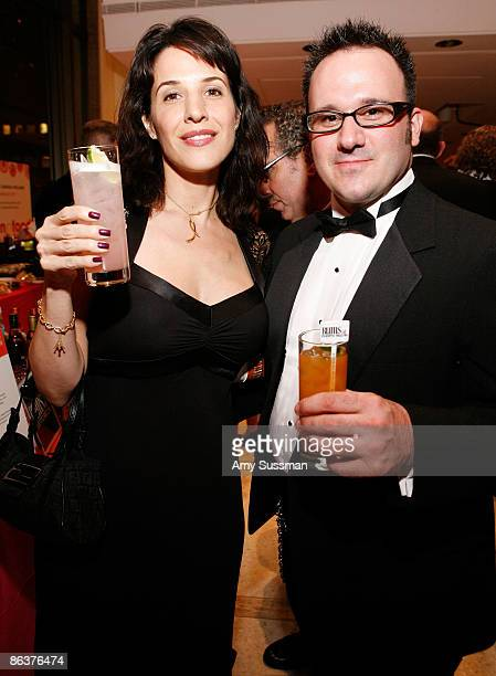 Guests visits the Rums of Puerto Rico booth at The 2009 James Beard Awards Gala at Avery Fisher Hall at Lincoln Center for the Performing Arts on May...