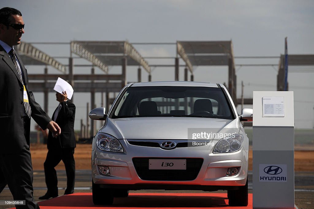 Hyundai To Build Car Plant In Brazil, Expand BRIC Production : News Photo