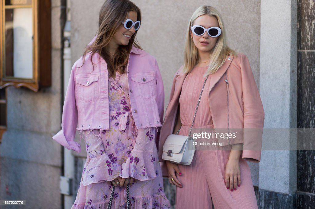 Street Style - Day 1 - Oslo Runway Spring/ Summer 2018 : Photo d'actualité