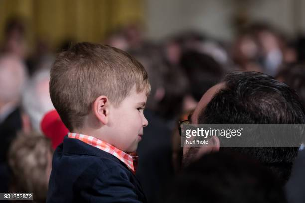 Guests young and old joined US President Donald Trump to welcome the Houston Astros to the White House in celebration of their World Series...
