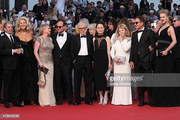 """Guests,Woody Allen and his wife Soon-Yi Previn attend the Premiere of """"Irrational Man"""" during the 68th annual Cannes Film Festival on May 15, 2015 in..."""
