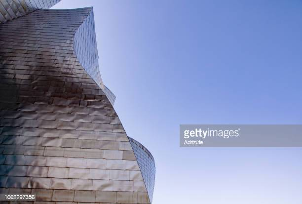 guggenheim bilbao - museum of contemporary art stock pictures, royalty-free photos & images