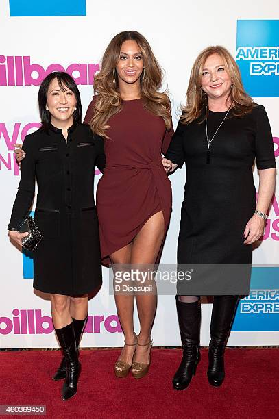 Guggenheim Media Entertainment Group copresident and chief creative officer Janice Min Beyonce and Lee Anne CallahanLongo General Manager of Parkwood...