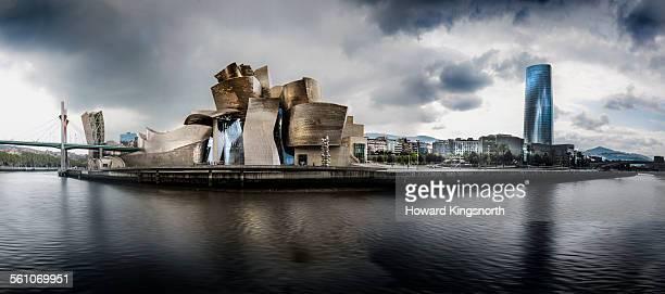 Guggenheim museum and waterfront