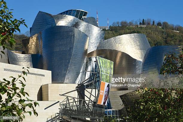 guggenheim museum, bilbao, basque region, spain - bilbao stock pictures, royalty-free photos & images