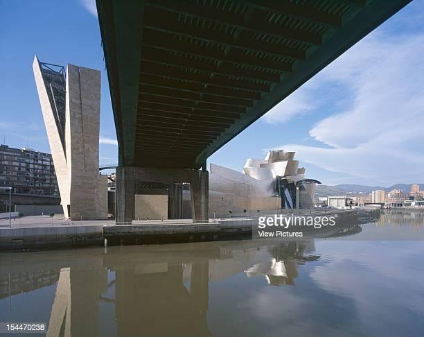 Guggenheim Museum Bilbao Spain Architect Frank Gehry Guggenheim Museum Guggenheim Museum Bilbao Frank Gehry October 1997 Underside Of Bridge Looking...