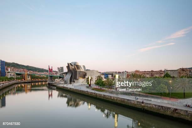 Guggenheim Museum in Bilbao, Basque Country, Spain