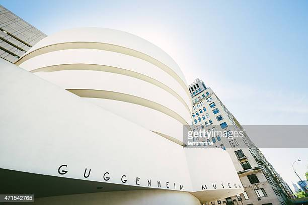 guggenheim museum new york - solomon r. guggenheim museum stock photos and pictures