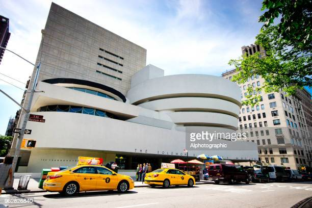 guggenheim museum - solomon r. guggenheim museum stock photos and pictures