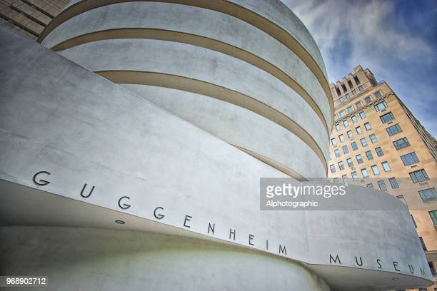 guggenheim museum - solomon r. guggenheim museum stock pictures, royalty-free photos & images