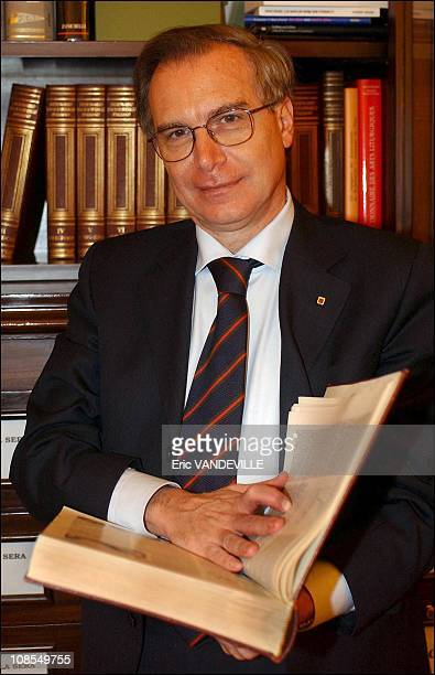 Guglielmo Epifani is the new General Secretary of CGIL in Rome Italy on February 13th 2003
