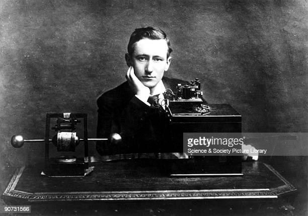 Gugliemo Marconi discovered a way in which waves could be used to send messages from one place to another without wires or cables Having read about...