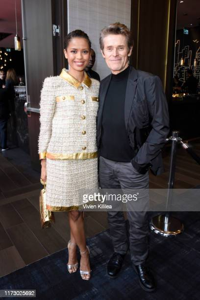 Gugu MbathaRaw and Willem Dafoe attend Entertainment Weekly's Must List Party at the Toronto International Film Festival 2019 at the Thompson Hotel...