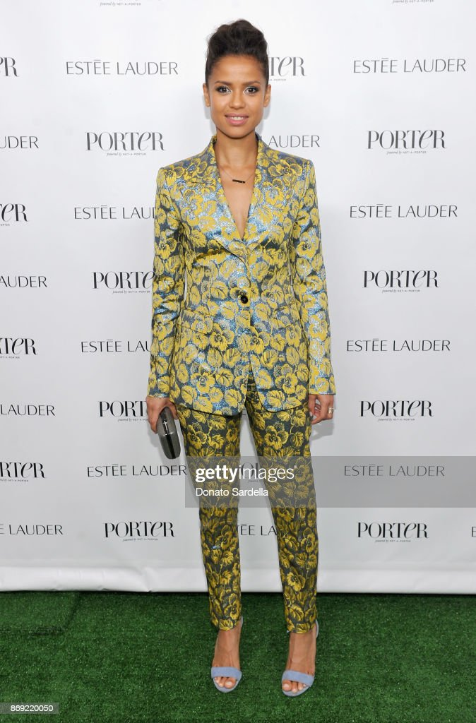 Gugu Mbatha-Raw at PORTER Hosts Incredible Women Gala In Association With Estee Lauder at NeueHouse Los Angeles on November 1, 2017 in Hollywood, California.
