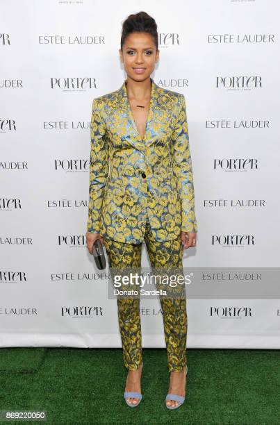 Gugu MbathaRaw at PORTER Hosts Incredible Women Gala In Association With Estee Lauder at NeueHouse Los Angeles on November 1 2017 in Hollywood...