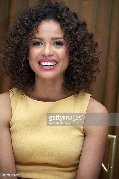 Gugu MbathaRaw at the Concussion Press Conference at the Beverly Wilshire Hotel on November 17 2015 in Beverly Hills California