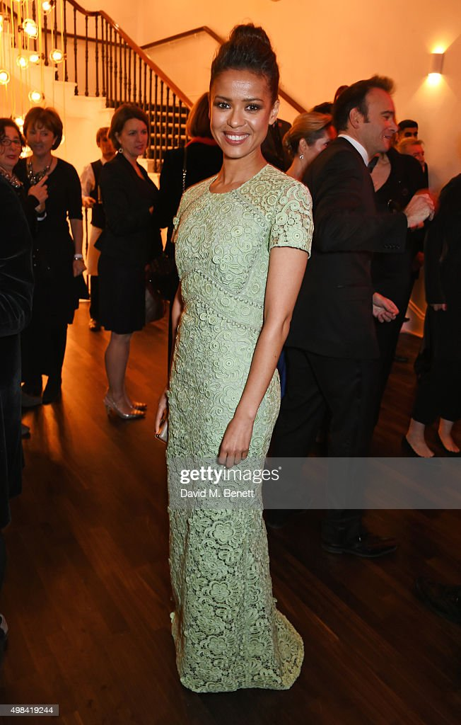 The London Evening Standard Theatre Awards In Partnership With The Ivy - Champagne Reception : News Photo