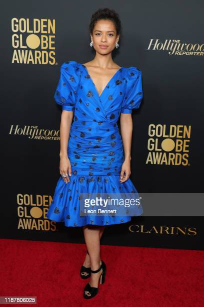 Gugu MbathaRaw attends HFPA And THR Golden Globe Ambassador Party at Catch LA on November 14 2019 in West Hollywood California
