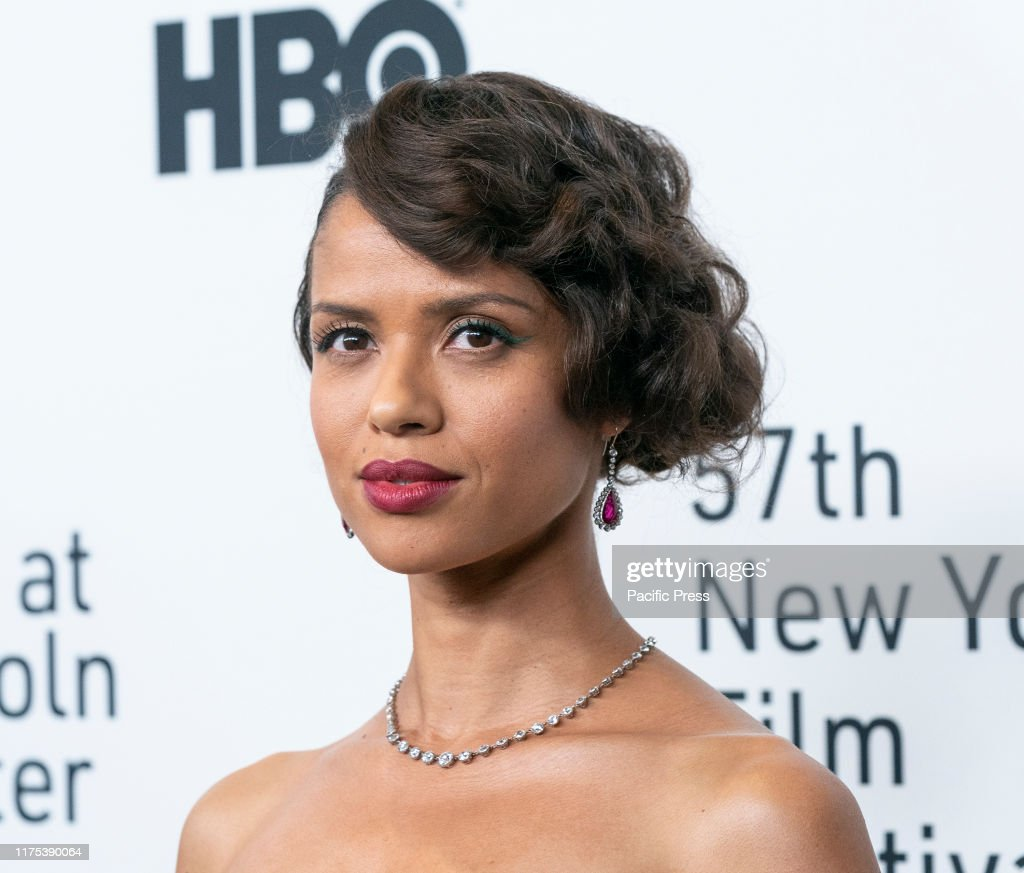 Gugu Mbatha-Raw attends Motherless Brooklyn premiere during... : ニュース写真