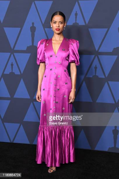 Gugu MbathaRaw attends the Academy Of Motion Picture Arts And Sciences' 11th Annual Governors Awards at The Ray Dolby Ballroom at Hollywood Highland...