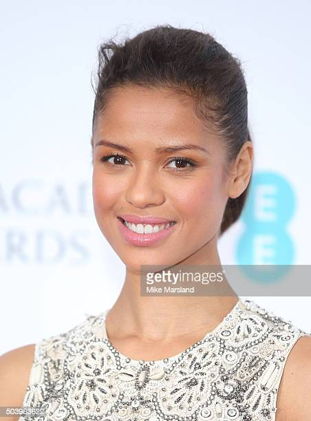 Gugu MbathaRaw attends the announcement of the EE British Academy Film Awards nominations at BAFTA on January 8 2016 in London England