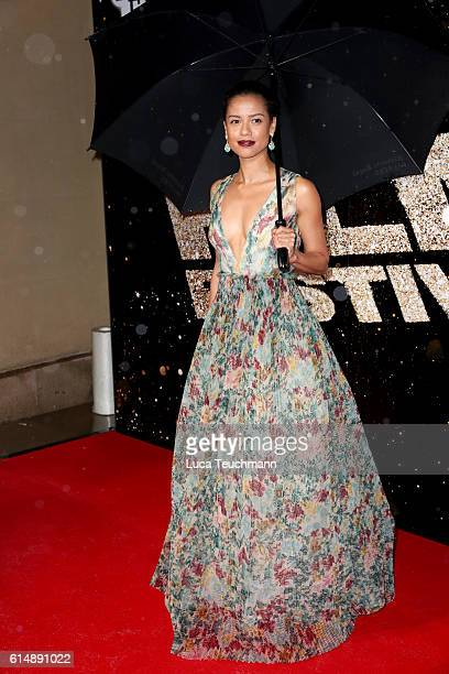 Gugu Mbatha-Raw attends the BFI London Film Festival Awards during the 60th BFI London Film Festival at Banqueting House on October 15, 2016 in...