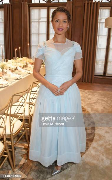 Gugu MbathaRaw attends the Cartier and British Vogue Darlings Dinner at the Residence at Cartier New Bond Street on June 5 2019 in London England