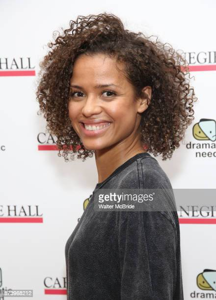 Gugu MbathaRaw attends The Children's Monologues at Carnegie Hall on November 13 2017 in New York City