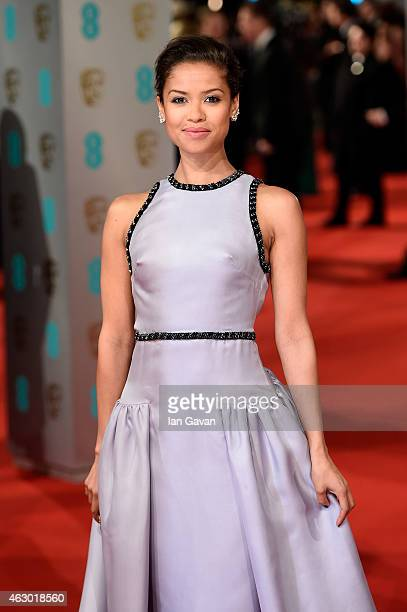 Gugu MbathaRaw attends the EE British Academy Film Awards at The Royal Opera House on February 8 2015 in London England