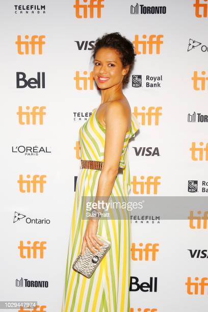 Gugu MbathaRaw attends the 'Farming' premiere during 2018 Toronto International Film Festival at Scotiabank Theatre on September 8 2018 in Toronto...