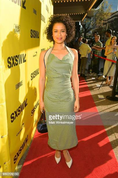 Gugu MbathaRaw attends the Fast Color Premiere 2018 SXSW Conference and Festivals at Paramount Theatre on March 10 2018 in Austin Texas